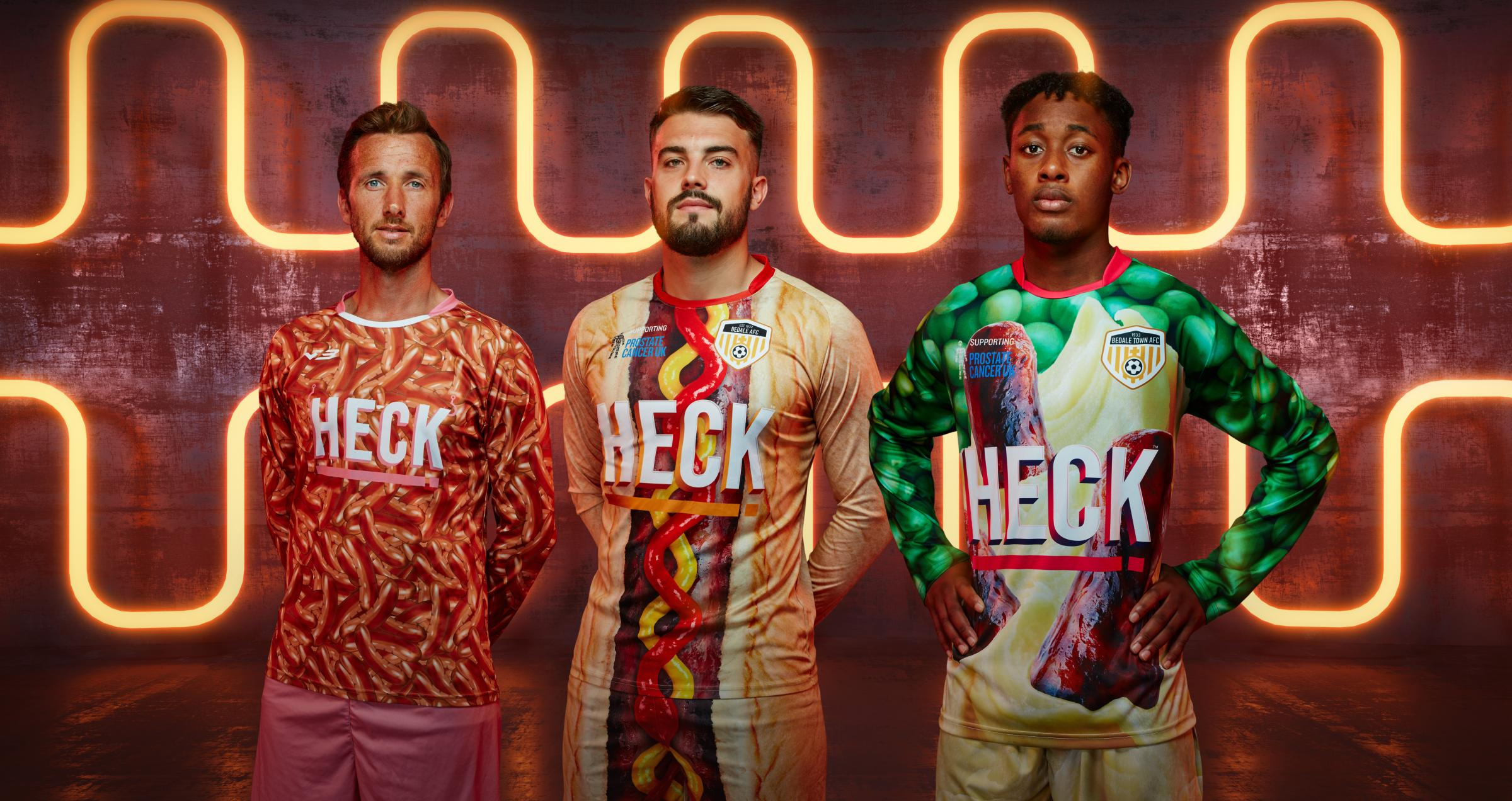 Bedale: FA enforces ban on Heck football kit