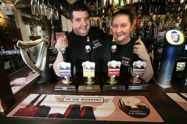 The Grey Horse at Consett has galloped away with the regional Pub of the Year title under the stewardship of David and Sandra Wilkinson Picture: GAVIN ENGELBRECHT