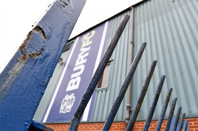 Bury were thrown out of the Football League earlier this week after a prospective takeover to buy out owner Steve Dale collapsed