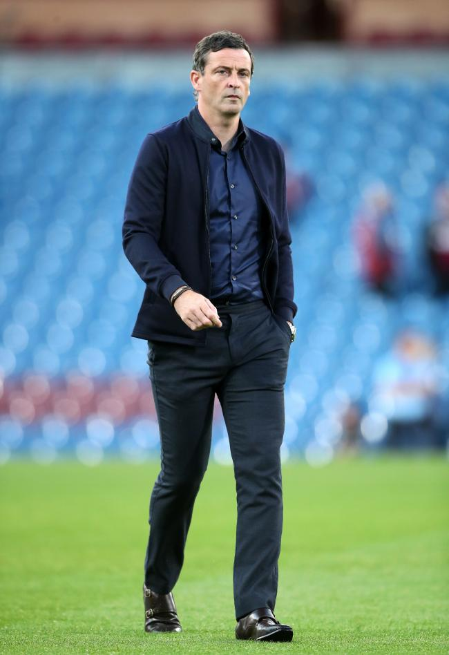 Sunderland manager Jack Ross during the Carabao Cup Second Round match at Turf Moor, Burnley. PRESS ASSOCIATION Photo. Picture date: Wednesday August 28, 2019. See PA story SOCCER Burnley. Photo credit should read: Nick Potts/PA Wire. RESTRICTIONS: EDITOR