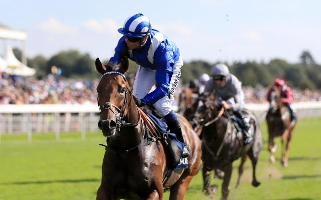 Battaash ridden by Jim Crowley wins The Coolmore Nunthorpe Stakes  at York Picture: Simon Cooper/PA Wire.