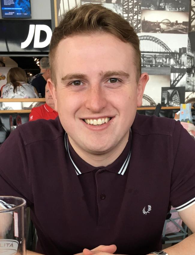 Jake Paul Miller, 24, from Sunderland, who died after being hit by a car on the A690 near Durham