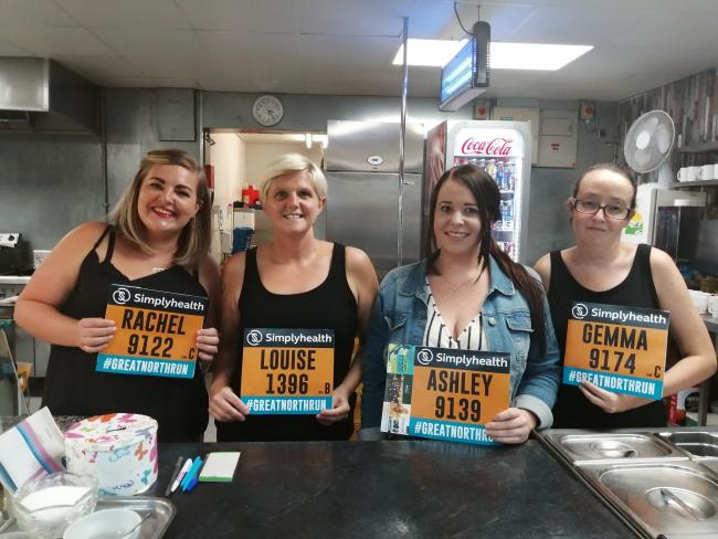Jean's Kitchen staff running to raise money for causes close to their hearts