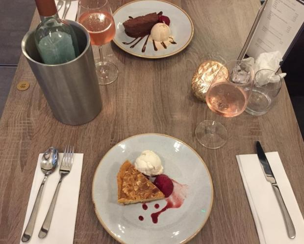 The Northern Echo: Desserts at The Fleece