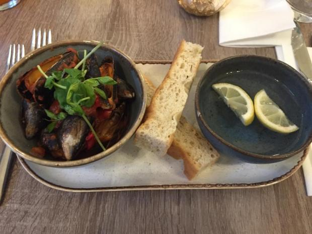 The Northern Echo: Mussels at The Fleece