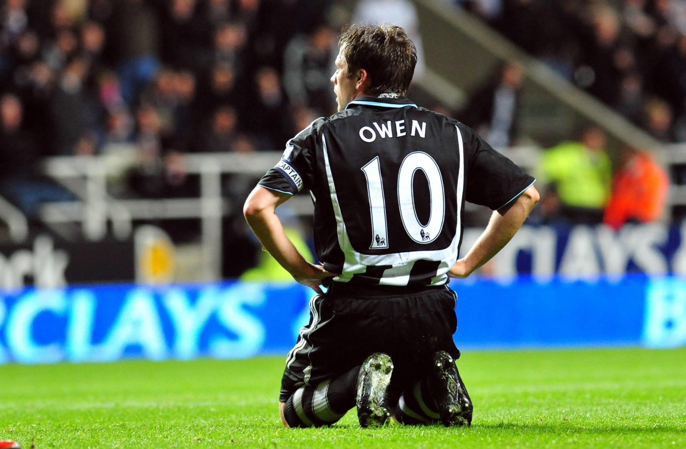 Image result for michael owen newcastle