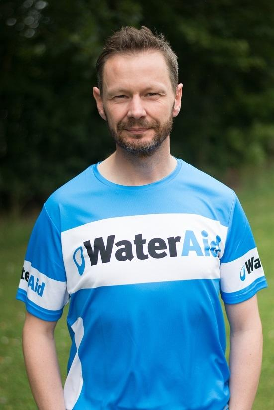 Paul White will be one of 100 Great North Runners backing WaterAid