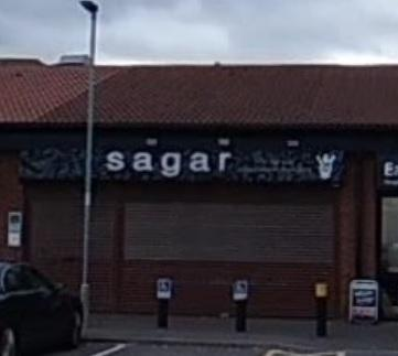 Sagar Indian Restaurant and Takeaway, in Seaham