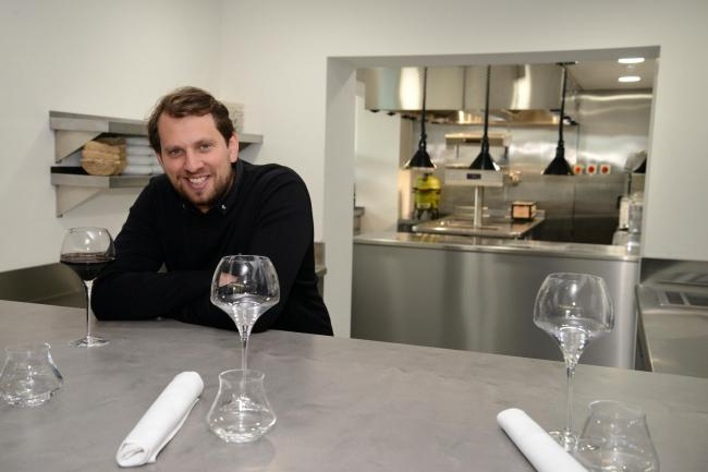 Two Michelin star chef James Close of The Raby Hunt at Summerhouse, County Durham