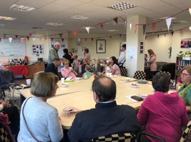 About 80 guests attended the Headway garden party on Saturday