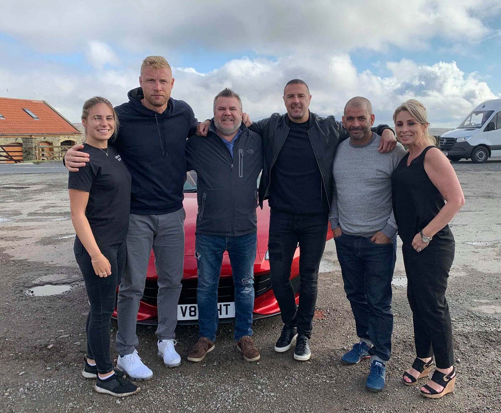 BBC Top Gear team drop into The Lion Inn at Blakey Ridge