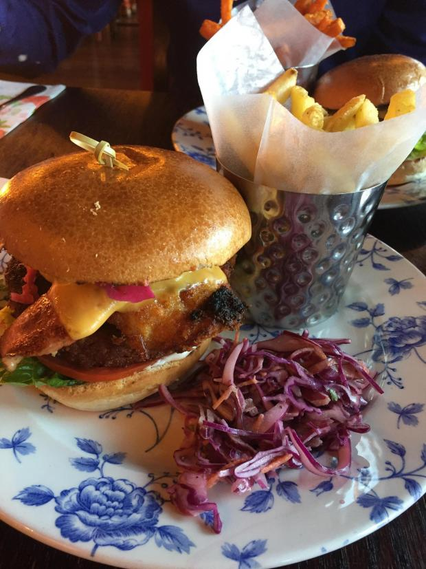 The Northern Echo: Our posh chicken burgers