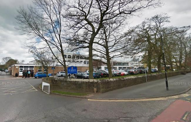 St Aidan's Church of England Secondary School, in Harrogate, North Yorkshire, where three students were found to have taken an illegal drug known as the 'Soundcloud' pill. Picture: Google