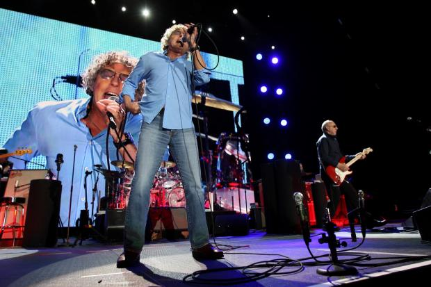 NO SUBSTITUTE: The Who play the Metroradio Arena in Newcastle. Picture: TOM BANKS.