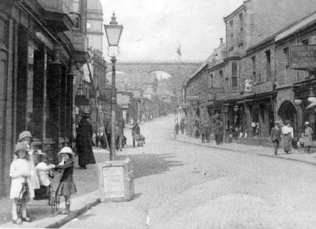 North Road, Durham, pictured in the early 1900s