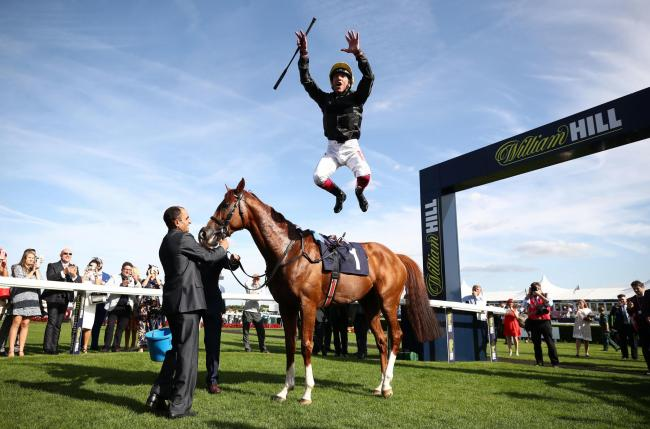 Frankie Dettori rides today in France