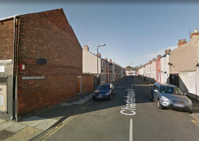 Investigation launched after man's body found in house on Charterhouse Street, Hartlepool Picture: GOOGLE
