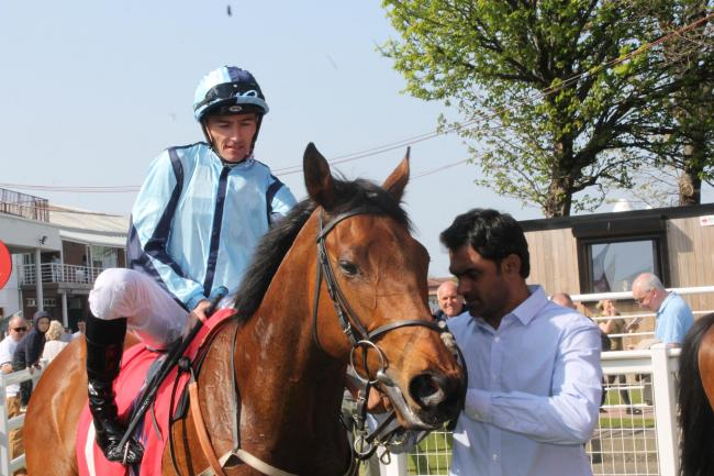 Danny Tudhope could be back in the winner's enclosure at Redcar. Picture: Peter Barron