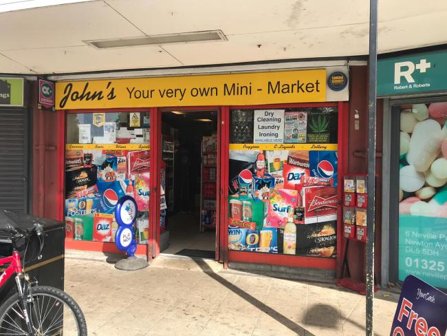 John's Mini Market, in Newton Aycliffe