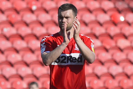 Jonny Howson to return for Middlesbrough against Sheff Wed