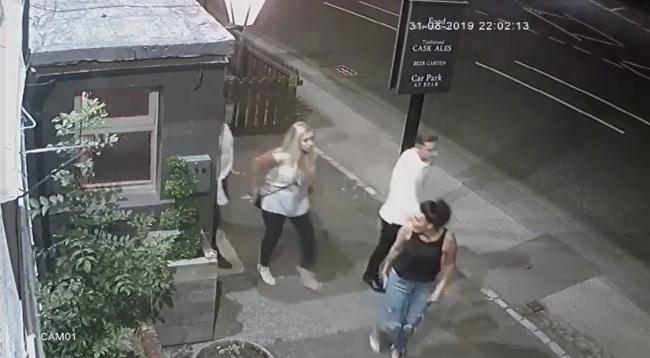 Police have released CCTV of some people they would like to speak to in connection with an assault at The Belmont Pub, Durham
