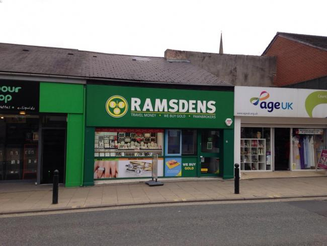 Ramsdens Jewellers, Front Street, in Chester-Le-Street was  targeted in a burglary