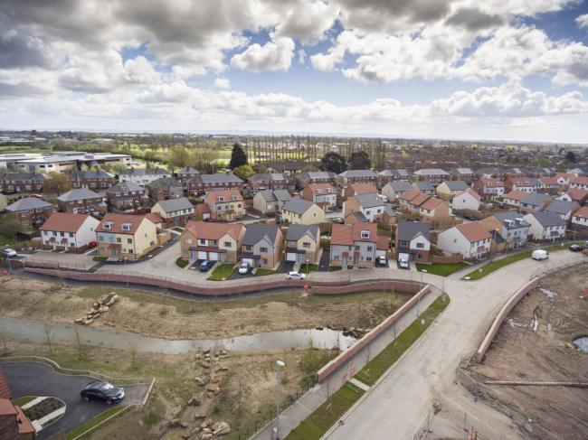 Plans for 10,000 new homes in Darlington have been questioned
