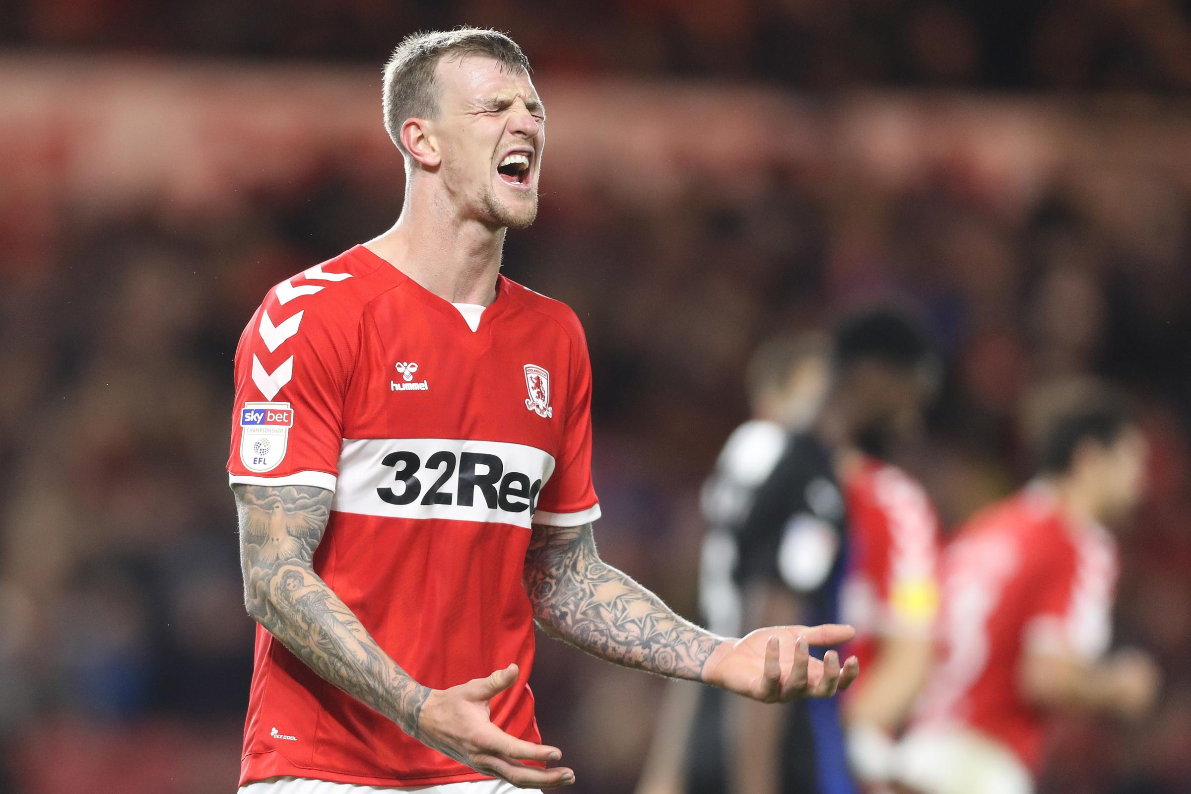 Ryan Shotton will mark ex-Middlesbrough defender Aden Flint