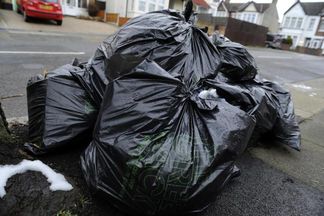 What would happen if a council went bust - would bin bags line the streets?