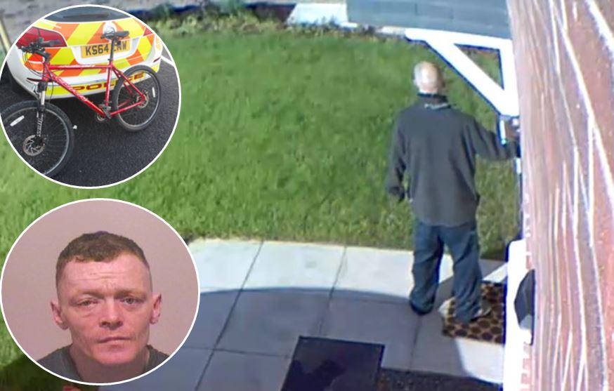 Mum found Houghton-le-Spring burglar next to four-week-old baby