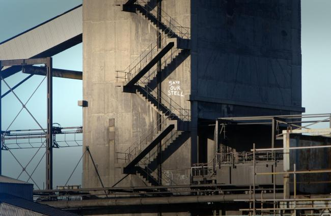 Two hurt in 'explosions' at old SSI site in Middlesbrough