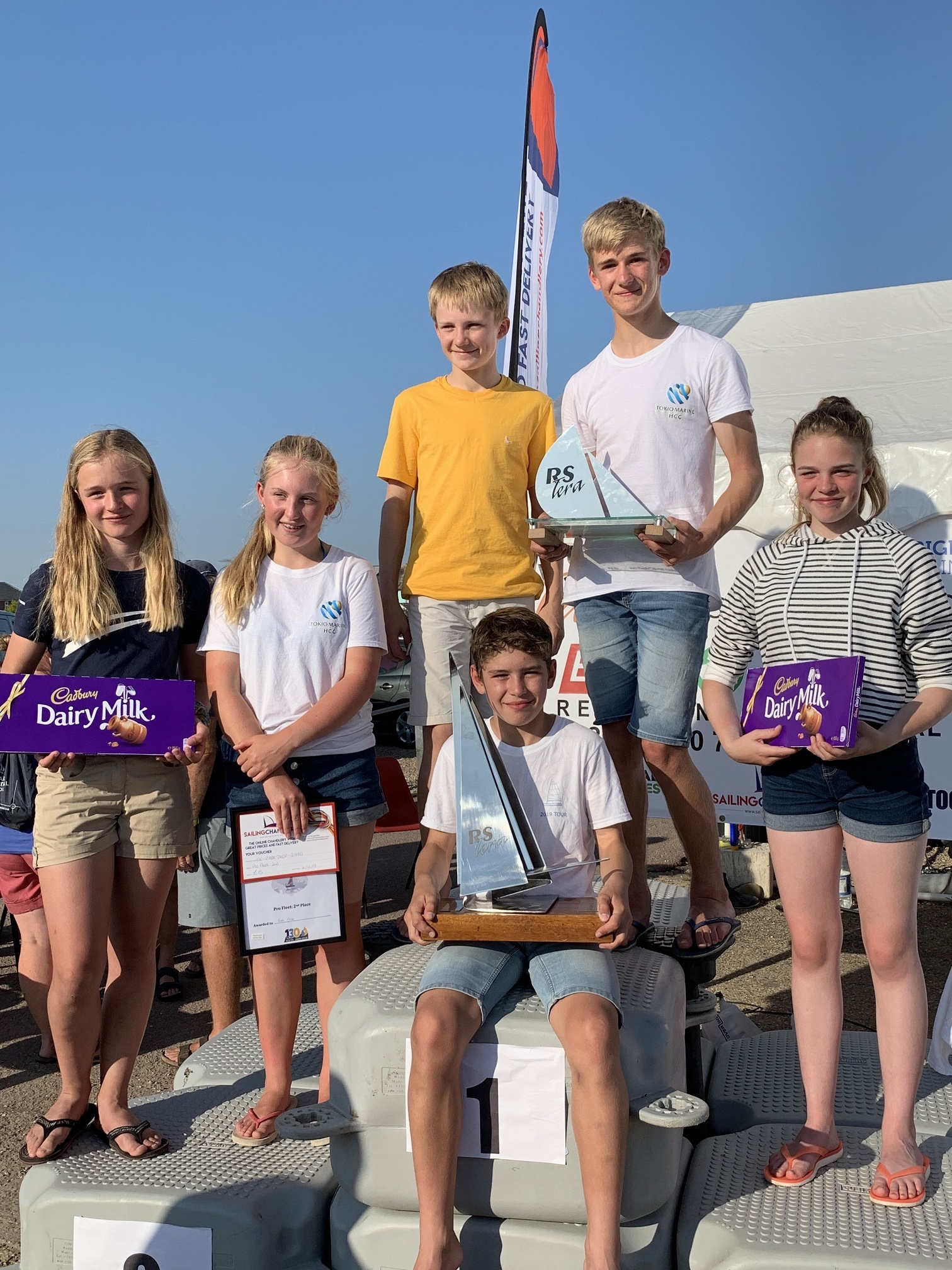 Dales sailing club's summer successes