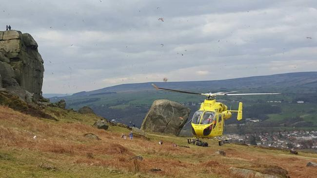The Yorkshire Air Ambulance said the app will save lives in remote locations