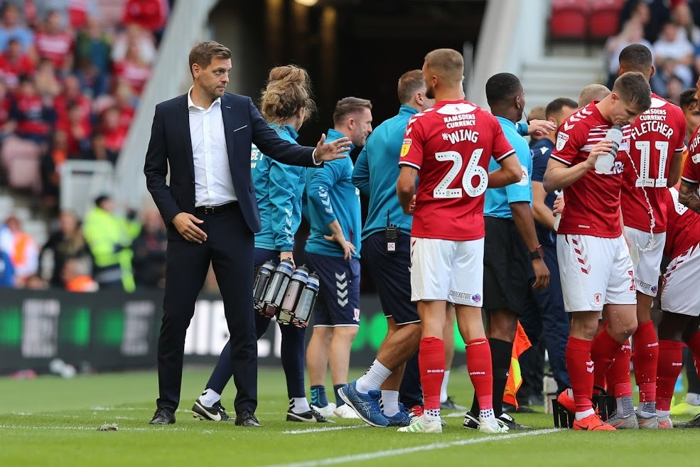 Boro boss is happy with his 'lions' guard