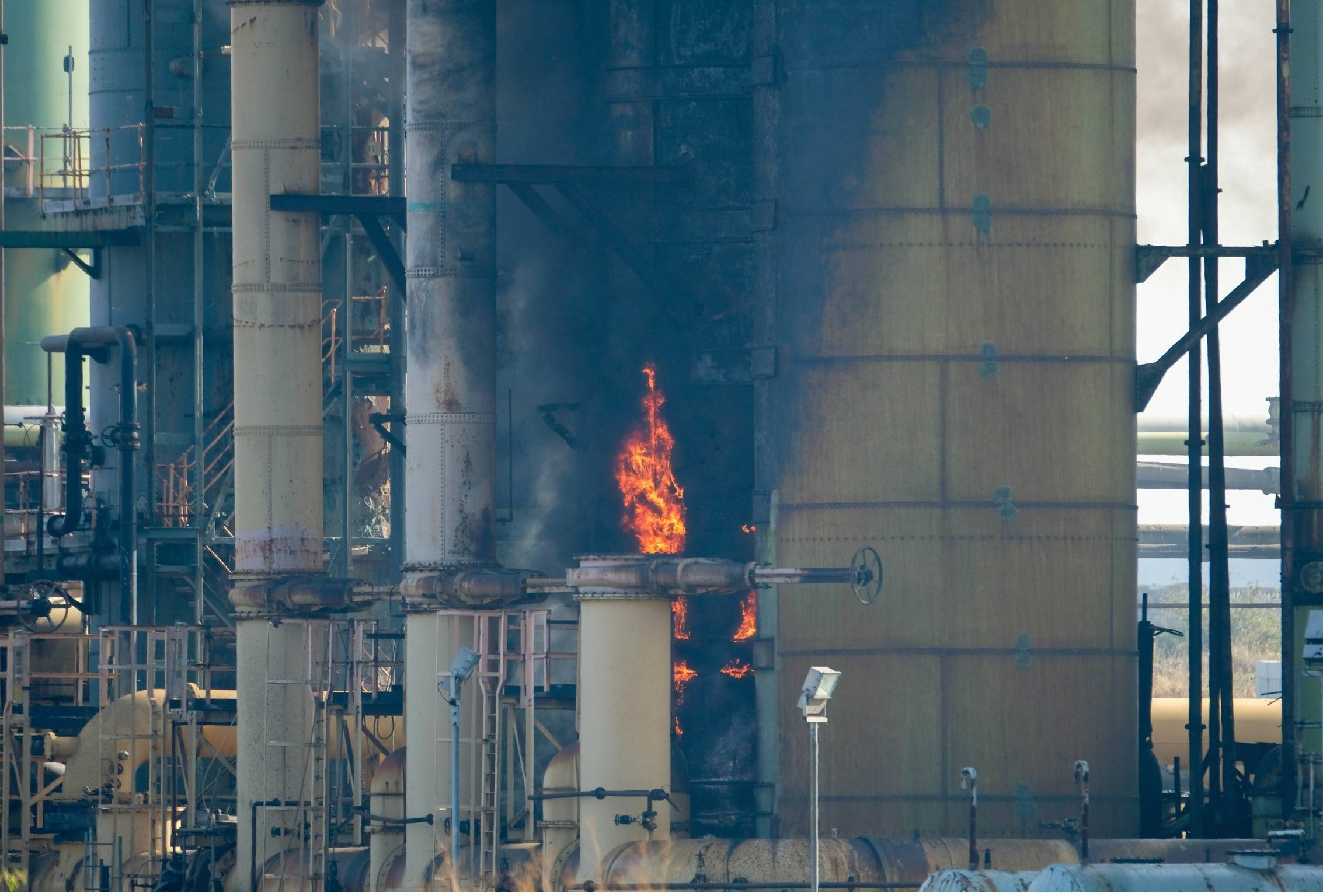 Fresh incident in early hours at former SSI site in Redcar