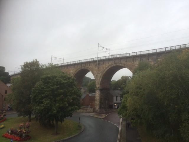 Man is believed to have jumped from Durham Railway Viaduct after walking onto it from southern end of platform one at city rail station