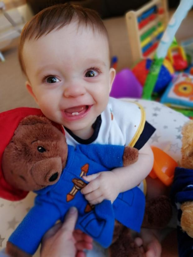 The Northern Echo: Finley, who is one today, is now thriving after his difficult start