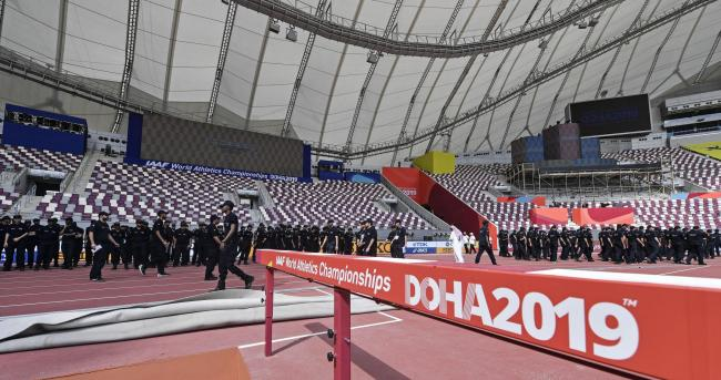 Preparations for the World Athletics Championships, which begin in the Qatari capital Doha today, are just about complete