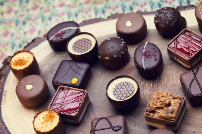 Who's counting calories? Delicious hand-made chocs