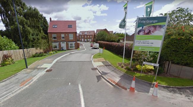 The proposed site is off Calvert Way in Bedale Picture: GOOGLE