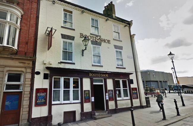 Teenagers stamped on a pigeon that had been hit by a car outside the Boot & Shoe pub in Darlington in front of shocked witnesses. Picture: Google