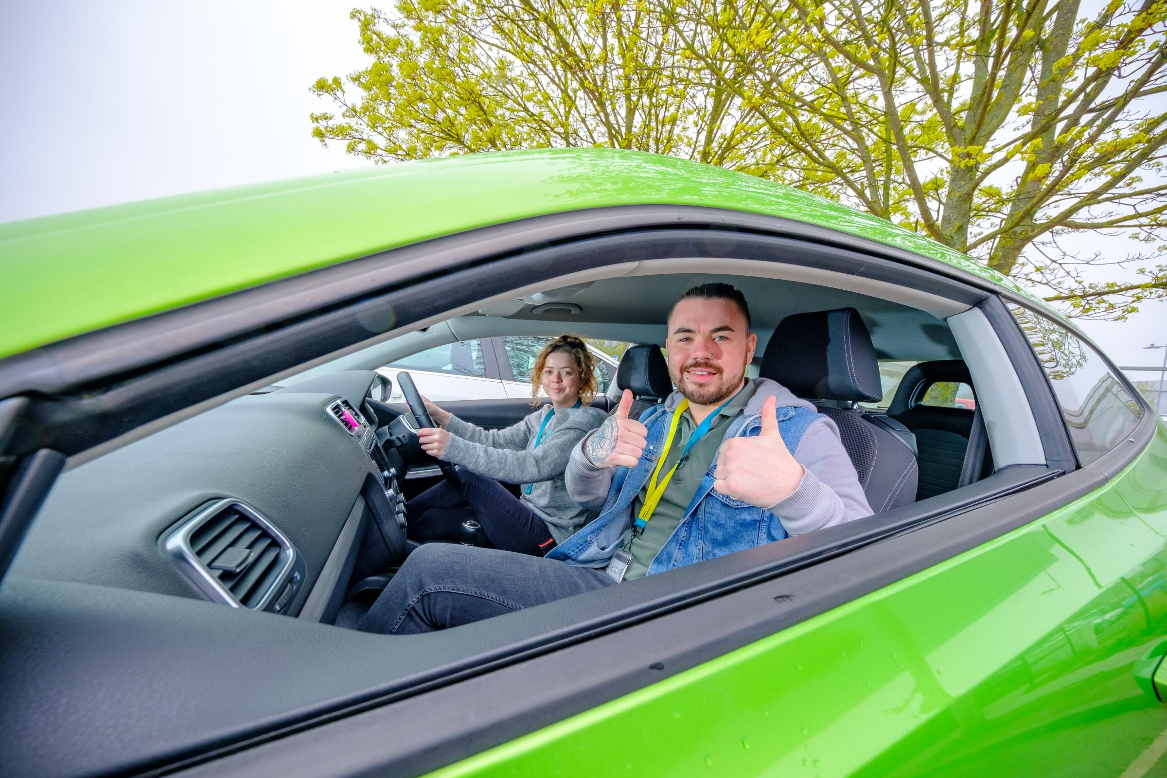 Positive results for EE staff car sharing scheme in Darlington