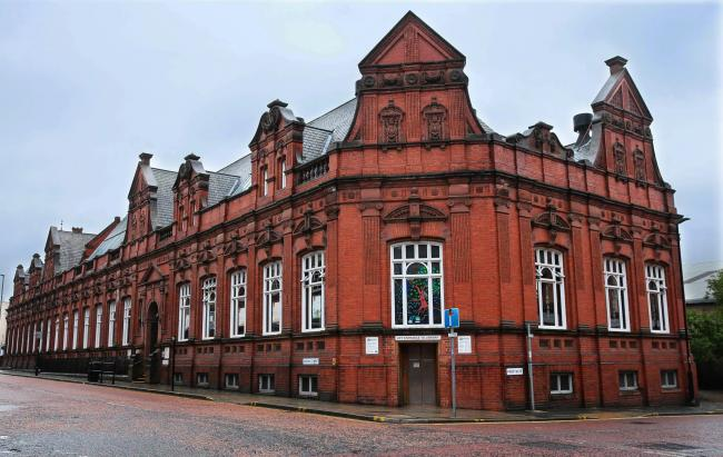 Crown Street Library in Darlington 	Picture:SARAH CALDECOTT