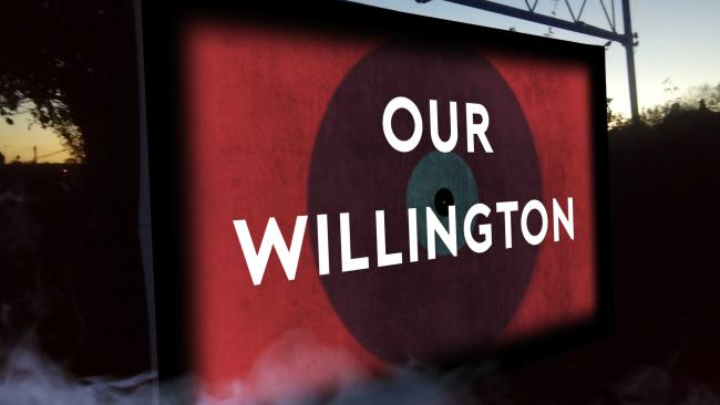 Willington will hit the big screen on Saturday, October 5