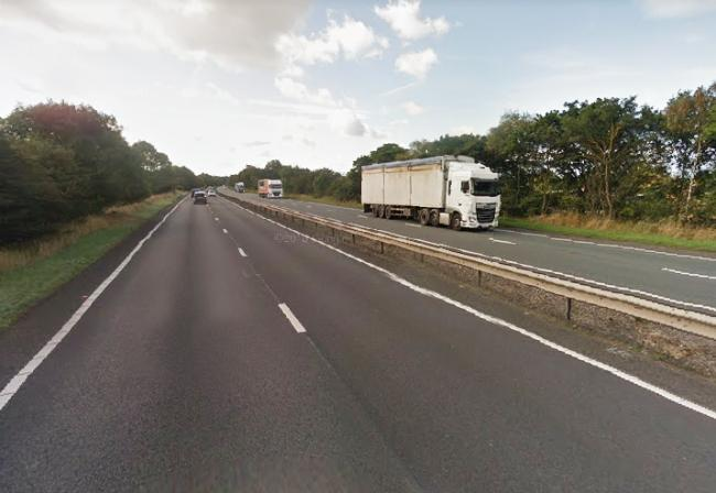 Long stretch of the A19 closed due to serious accident