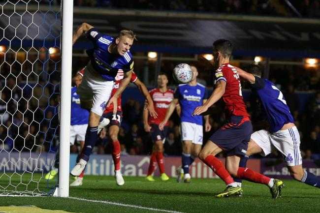 Birmingham City FC V Middlesbrough. Dani Ayala scores for the Boro. Picture by Tom Banks.