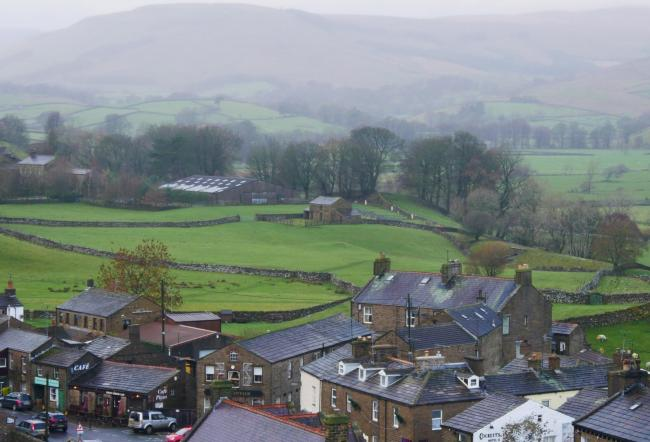 Hawes in the Upper Dales division