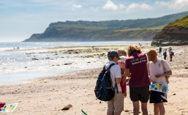 Outreach programmes educate youngsters about the North York Moors National Park and coastline