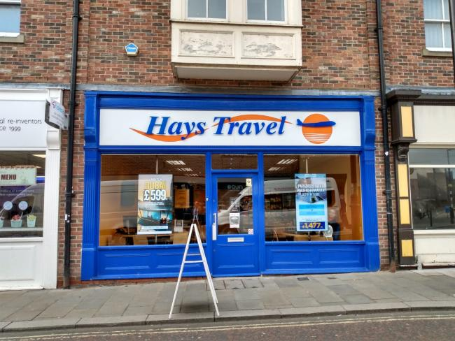 Hayes Travel has said it will buy 555 Thomas Cook stores