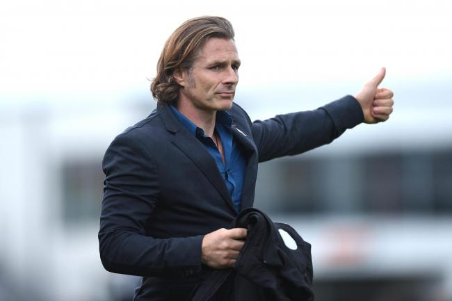 09.09.17 - Newport County v Wycombe Wanderers - SkyBet League 2 -. Wycombe Wanderers manager Gareth Ainsworth..
